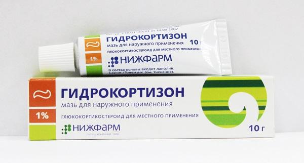 Упаковка Гидрокортизона 1%